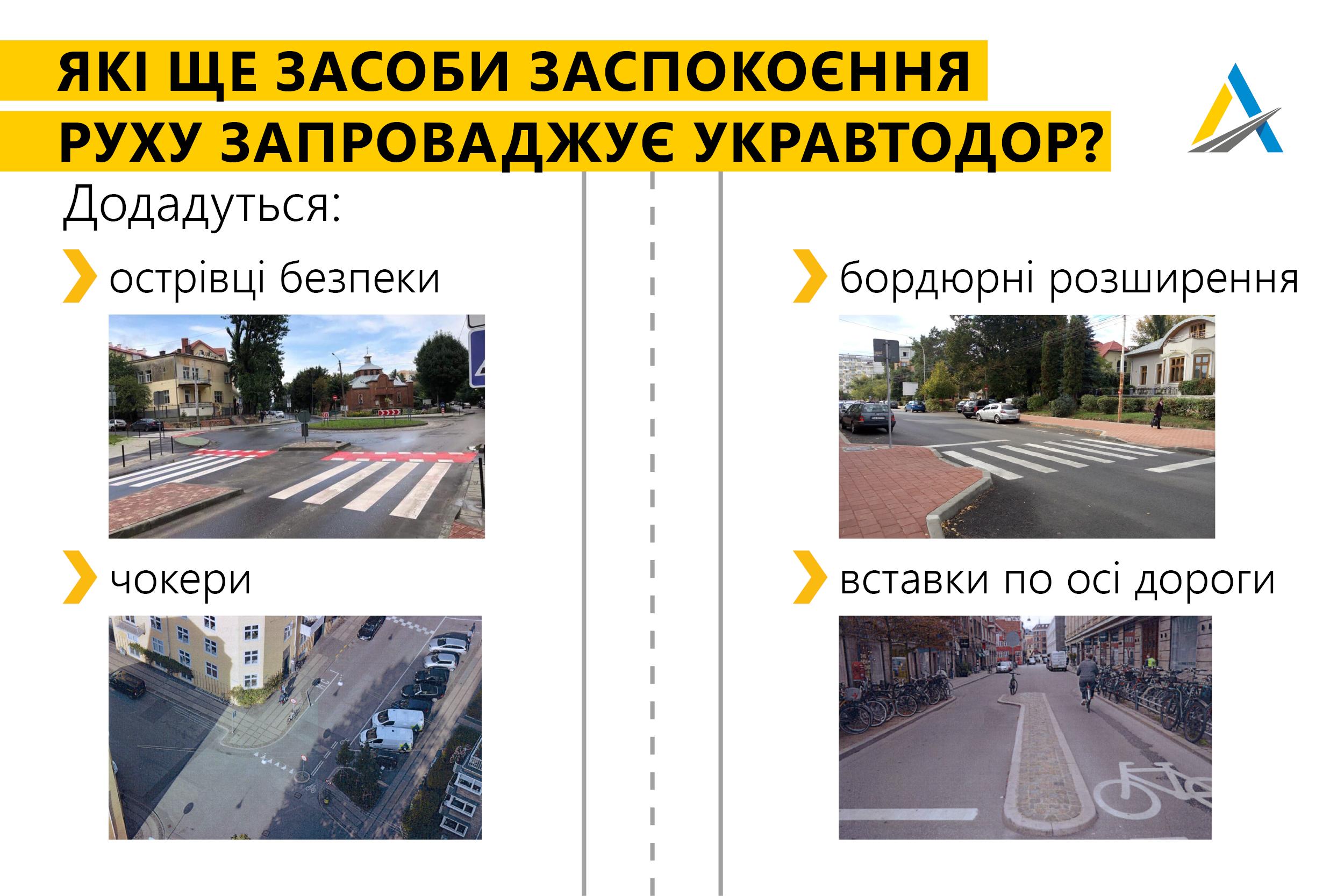 В Украине ввели новые дорожные стандарты: водителей заставят ездить медленнее