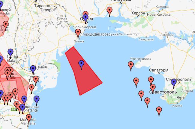 Россия перекрывает Черное море и готовит провокации против Украины