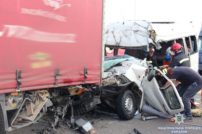Авария в Житомирской области: все подробности