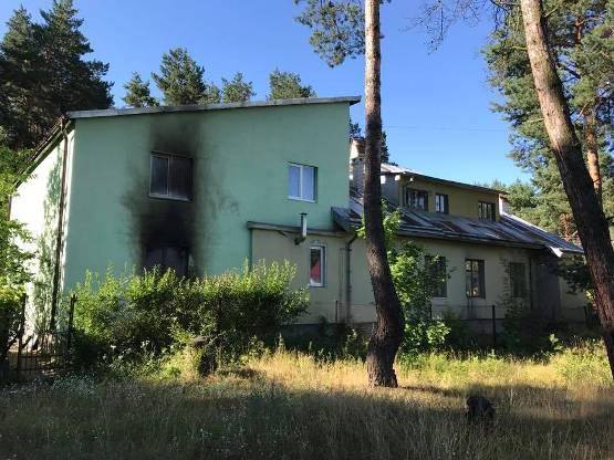 ВоЛьвовской области неизвестные подожгли монастырь
