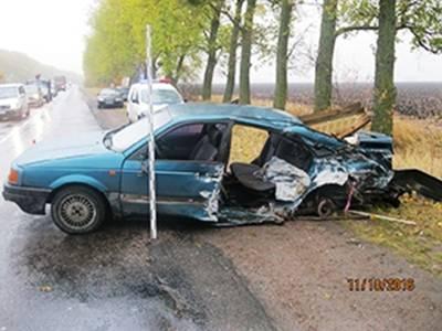 ВДТП под Киевом погибли два человека, 4 ранены