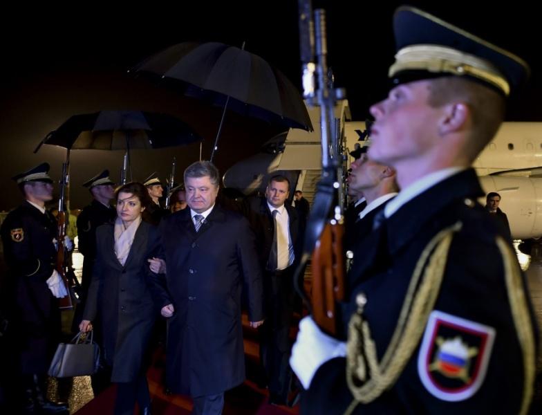 Порошенко проводит встречу спрезидентом Словении вЛюбляне