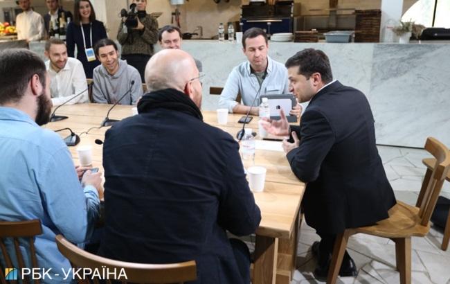 Пресс-марафон Зеленского: онлайн