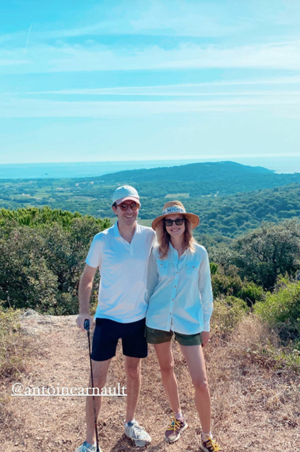 Как молодожены: Наталья Водянова и Антуан Арно наслаждаются романтическим отдыхом в Сен-Тропе