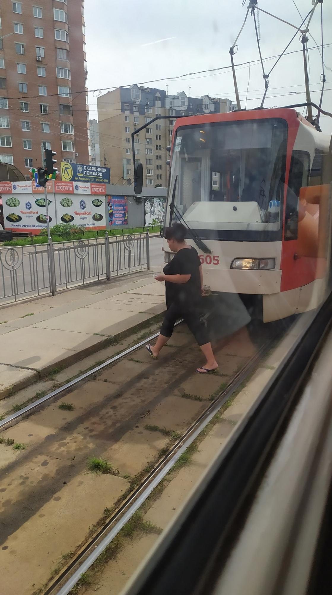 Трамвай. Фото: facebook.com/Kiev.transport.community