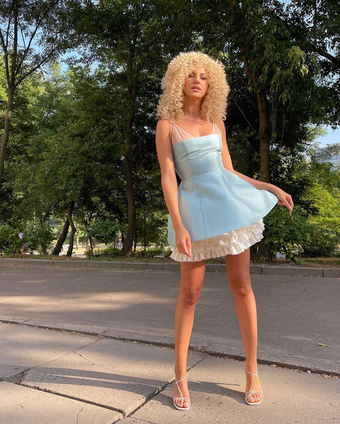 Леся Никитюк в образе Мальвины поделилась секретом счастья