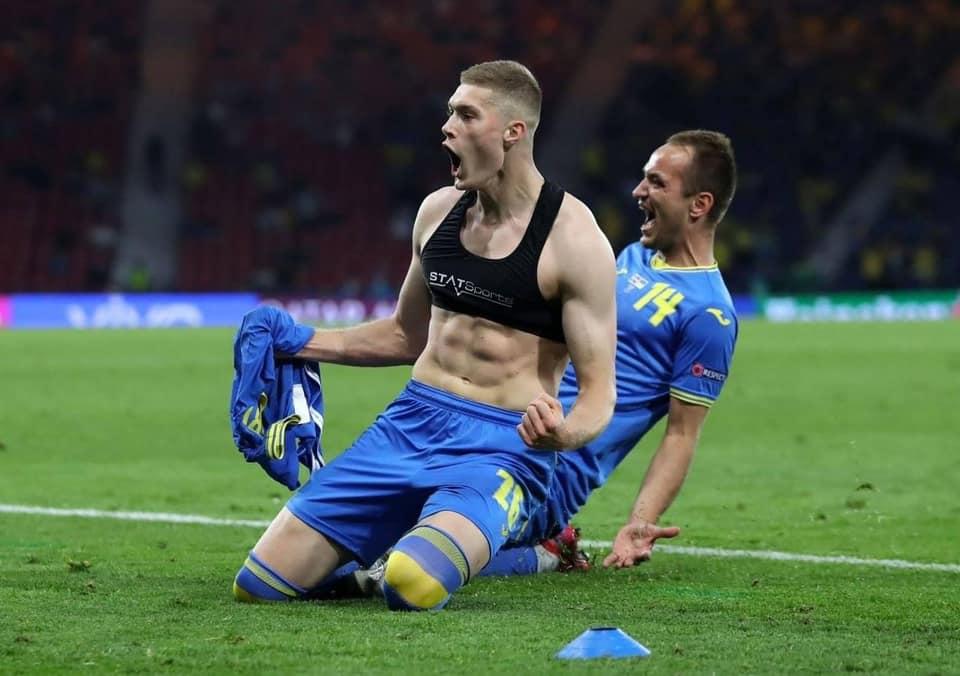 Ніцой злісно накинулася на героя матчу Україна - Швеція: