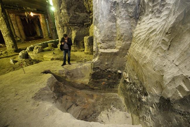 Вулиця 11-13 століття була знайдена на розкопках в Києві