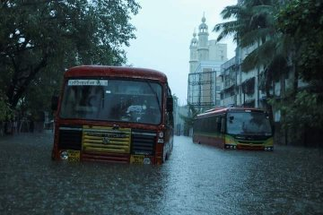 Видео последствий смертоносного циклона в Индии: поваленные деревья, сорванные крыши и потоп