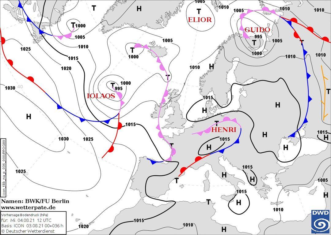 В Україну суне циклон Henri: які області накриє штормом