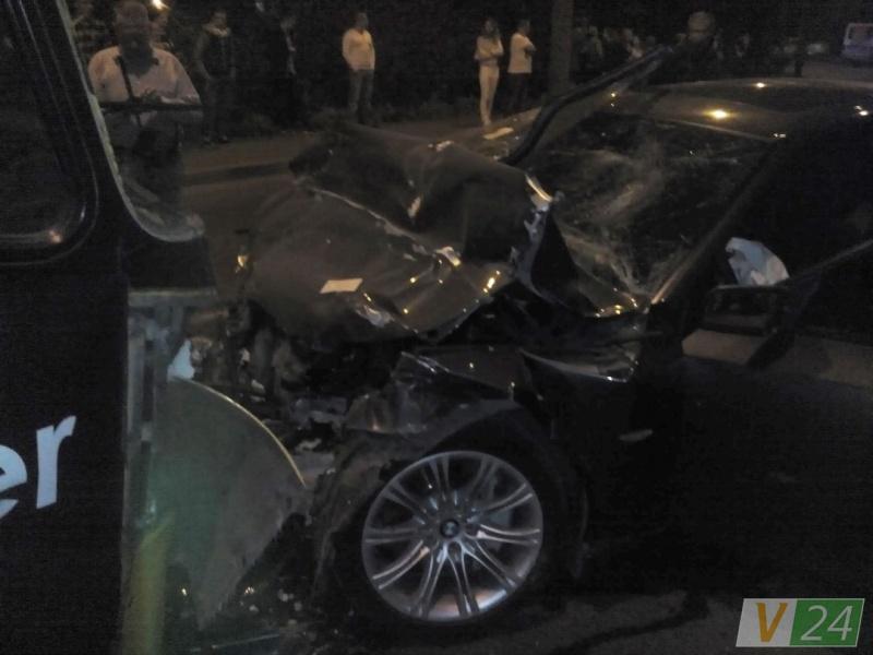 ВЛуцке легковушка врезалась вмаршрутку: один человек умер, около 10-ти пострадавших