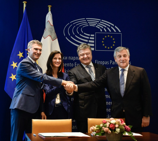 Таяні: Після введення безвізу відносини України і ЄС стануть набагато легшими
