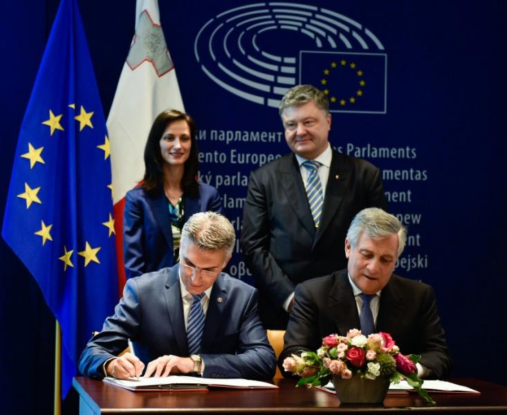 Нові правила є хорошим сигналом для України,— голова Європарламенту