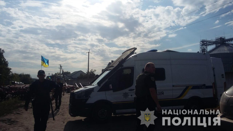 По факту конфликта на элеваторе в Харьковской области полиция открыла дело