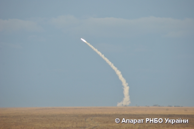 Украинские военные начали учения сракетными стрельбами наюге страны