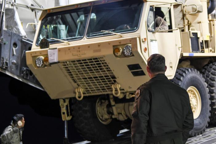 США начали развёртывание комплексов ПРО THAAD вЮжной Корее