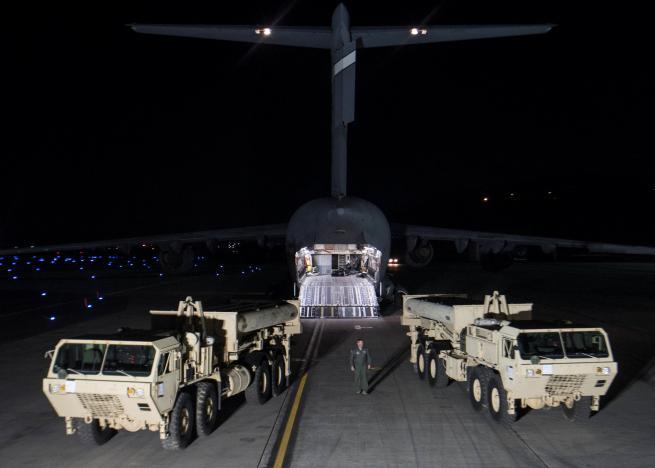 США начали работы поразмещению системы THAAD вЮжной Корее
