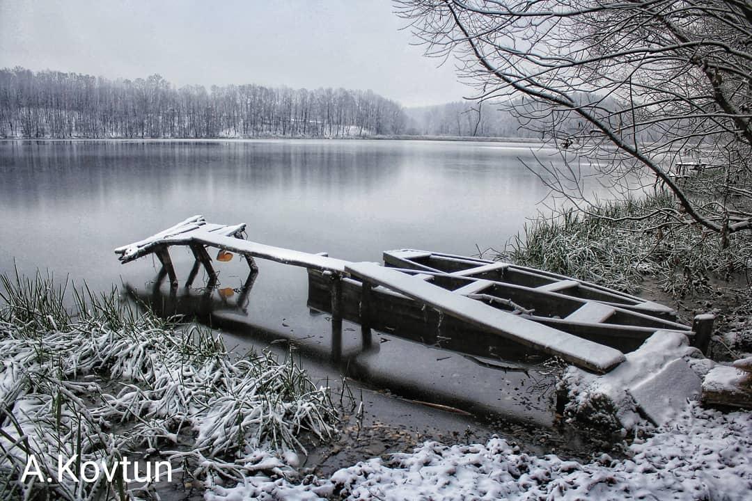 В Украину пришла сказочная зима: на фото попали невероятные пейзажи