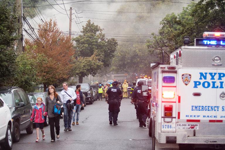 ВНью-Йорке прогремел мощный взрыв: есть жертвы