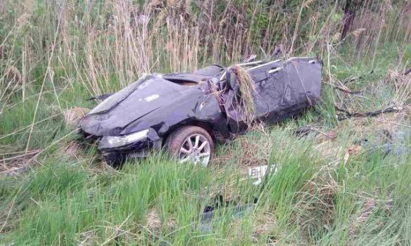 Авто разорвало начасти— Смертельное ДТП