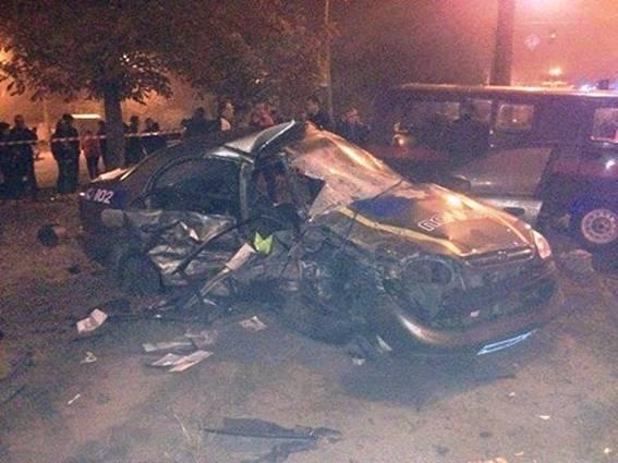 ВКиевской области вДТП погибли двое полицейских