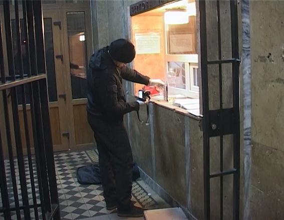 ВКиеве мужчина поджег себя вотделении милиции