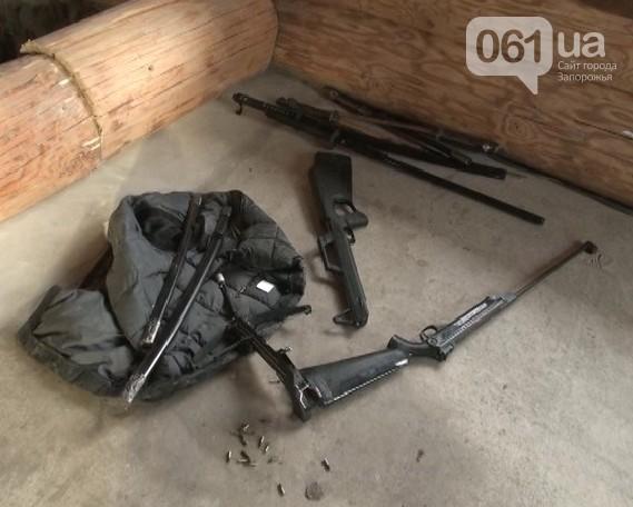 Вэлитном поселке Запорожской области мужчина стрелял вполицейского