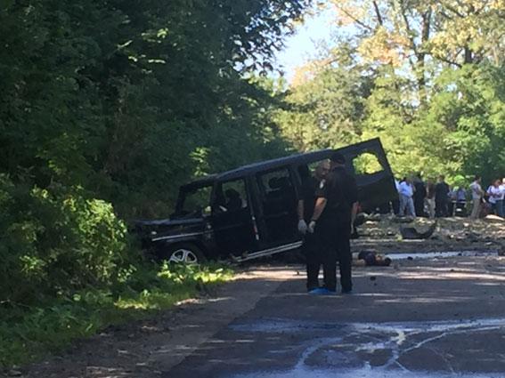 Умышленное убийство: милиция открыла уголовное производство поподрыву авто наЛьвовщине