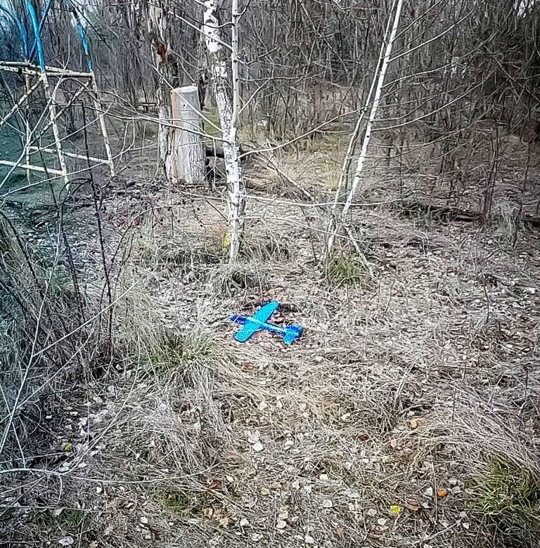 Боевики под Мариуполем запустили начиненный взрывчаткой игрушечный самолет