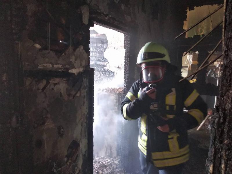 В Хмельницком ликвидировали пожар в школе