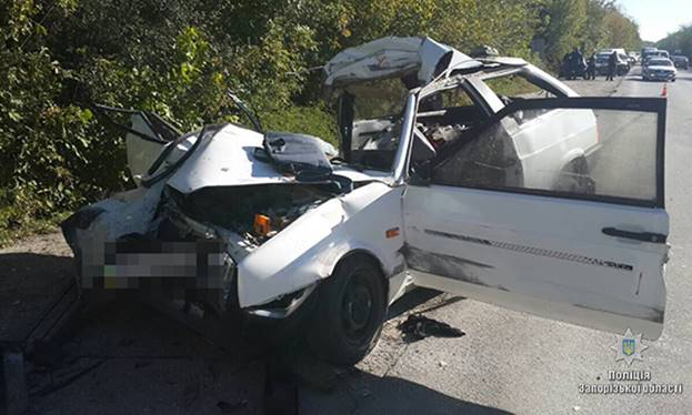 ДТП вЗапорожье: два человека погибли, три пострадали