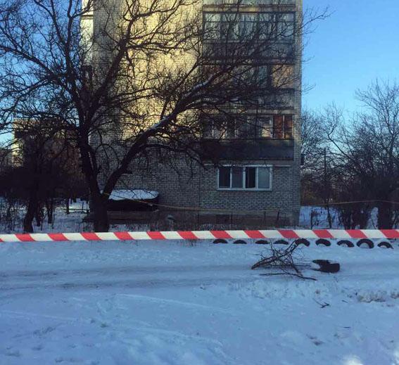 Вцентре прифронтовой Авдеевки правоохранители обнаружили снаряд, что невзорвался