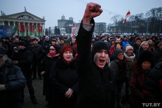 Граждане Минска вышли на«Марш рассерженных белорусов»