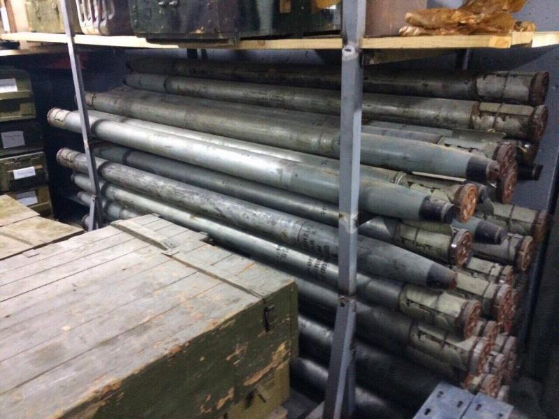 Рядом сКиевом отыскали подземный склад соружием ибронетранспортером