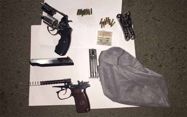 ВОдессе правоохранители задержали торговца оружием иззоны АТО