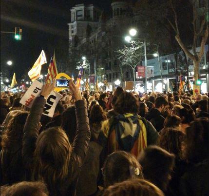 Протести вКаталонії: число постраждалих активістів перевищило 100