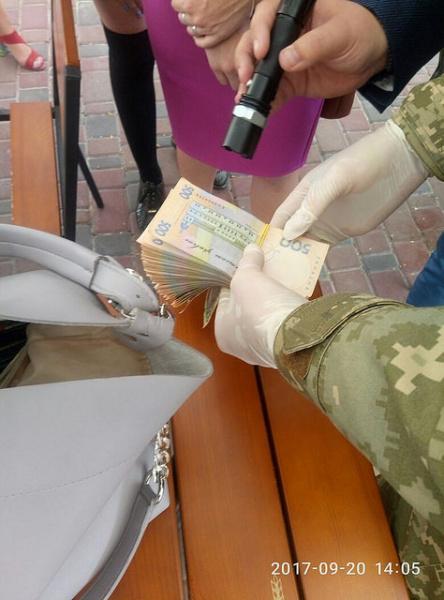 Замглавы ГФС в Кировоградской области задержана на взятке 80 тысяч гривен