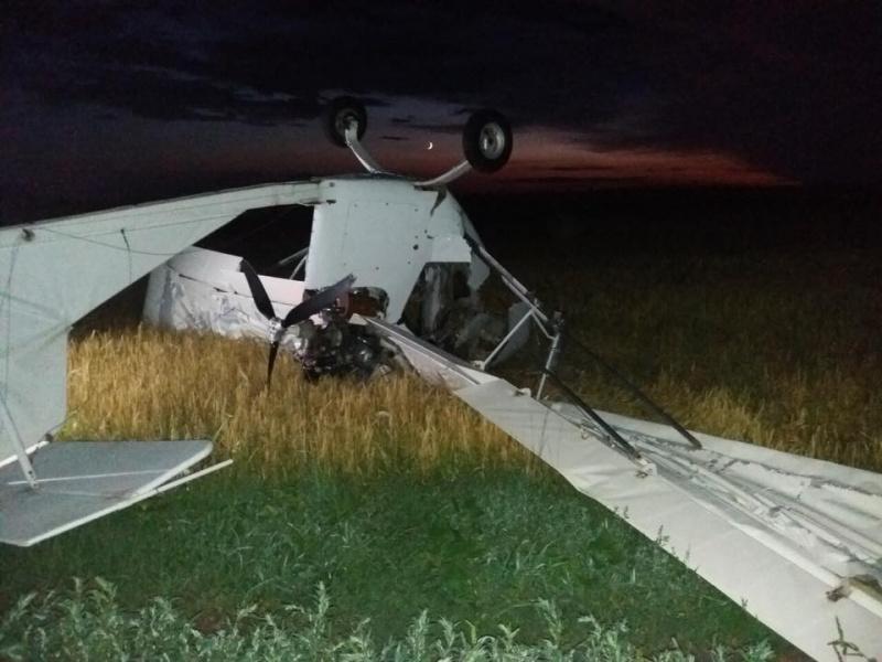 По факту крушения самолета в Сумской области открыто уголовное производство