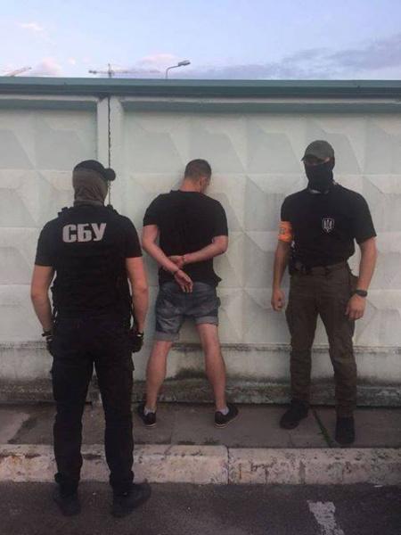 В Киеве полицейского задержали на сбыте наркотиков