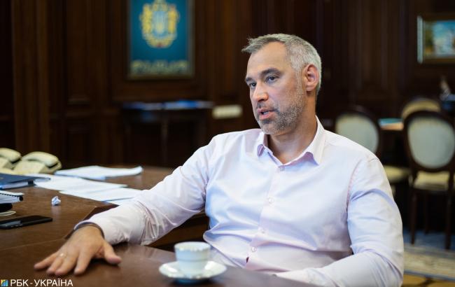 Руслан Рябошапка: Рука не дрогнет по кому угодно, кто есть в парламенте