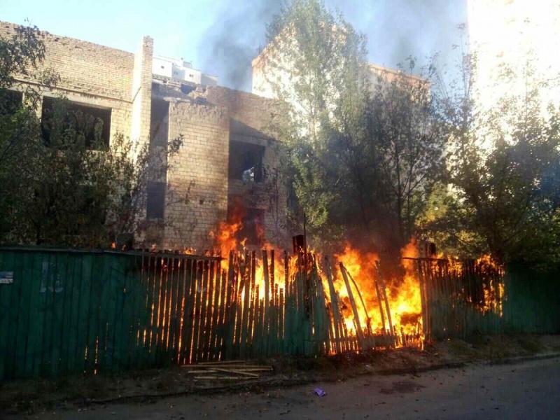 ВКиеве произошел взрыв внедостроенном детском саду