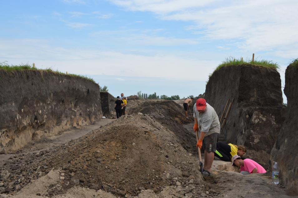 Под Луганском в кургане нашли захоронения загадочного племени с удлиненными головами (фото)