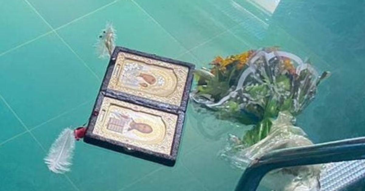 Плавали ікона, квіти і пір'я: у Кривому Розі в басейні загадково загинула сім'я