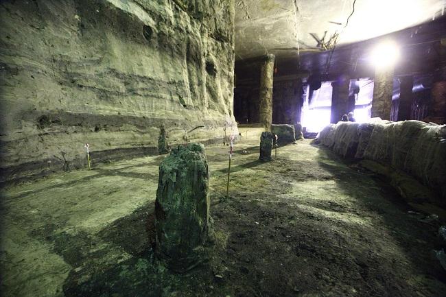 Исторические раскопки в Киеве