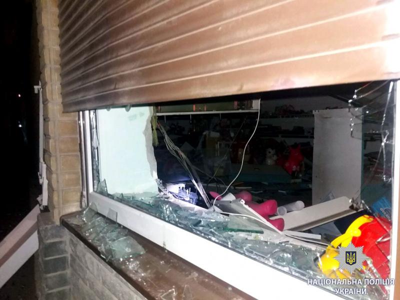 ВХарькове взорвали иобчистили банкомат