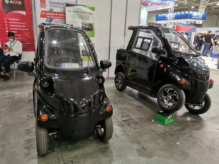 У Києві показали електромобілі українського виробництва (фото)