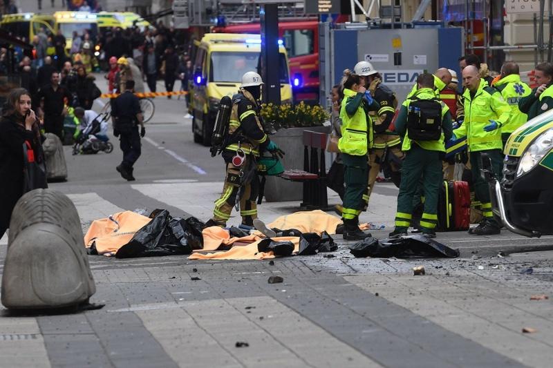 Один изпострадавших вСтокгольме скончался в клинике