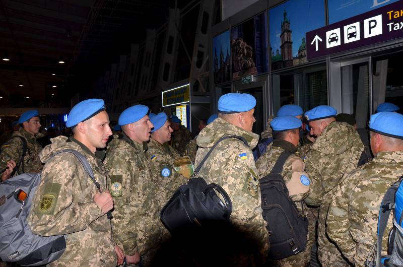 Українські миротворці при ООН: 80 військових повертаються додому з Ліберії
