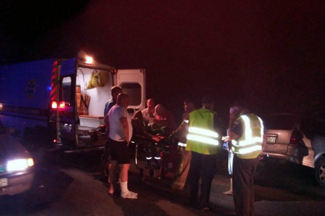 В Днепропетровской области в результате ДТП пострадали 15 человек
