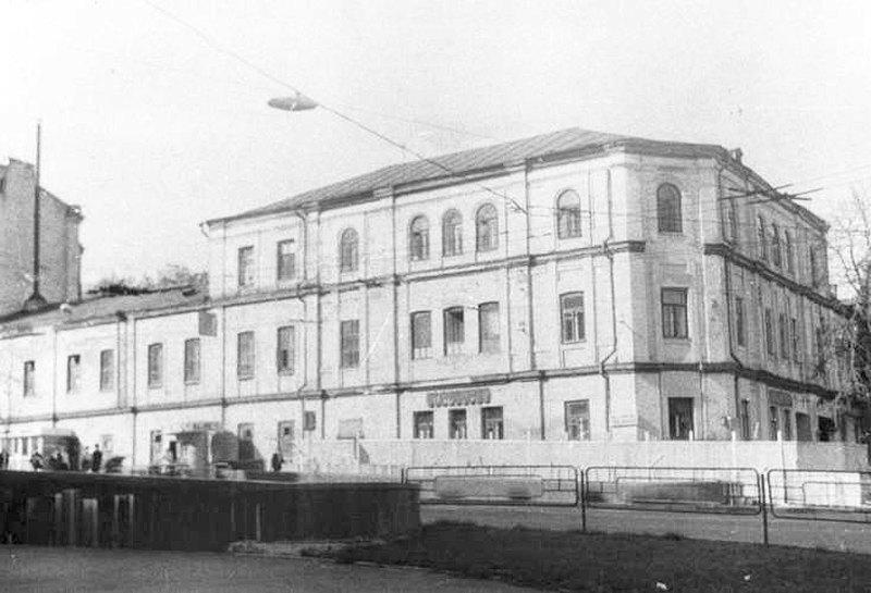 Бани Михельсона в Киеве перед сносом